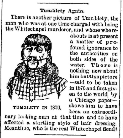 Jack the Ripper Suspect Dr. Francis Tumblety eBook: Hawley ...