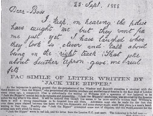 jack the ripper letters pdf