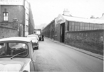 Durward Street in the 1960s